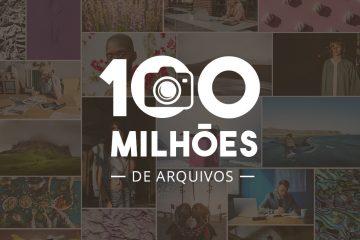 Comemorando 100 milhões de arquivos Depositphotos