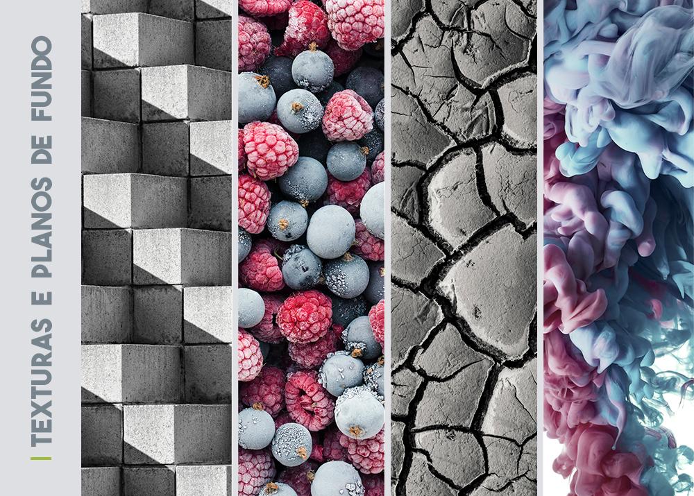 coleção de fotos Texturas e planos de fundo