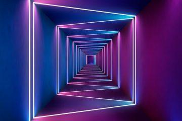 Coleção de fotos: cores e painéis de neon