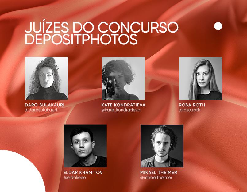 Juízes do concurso Depositphotos