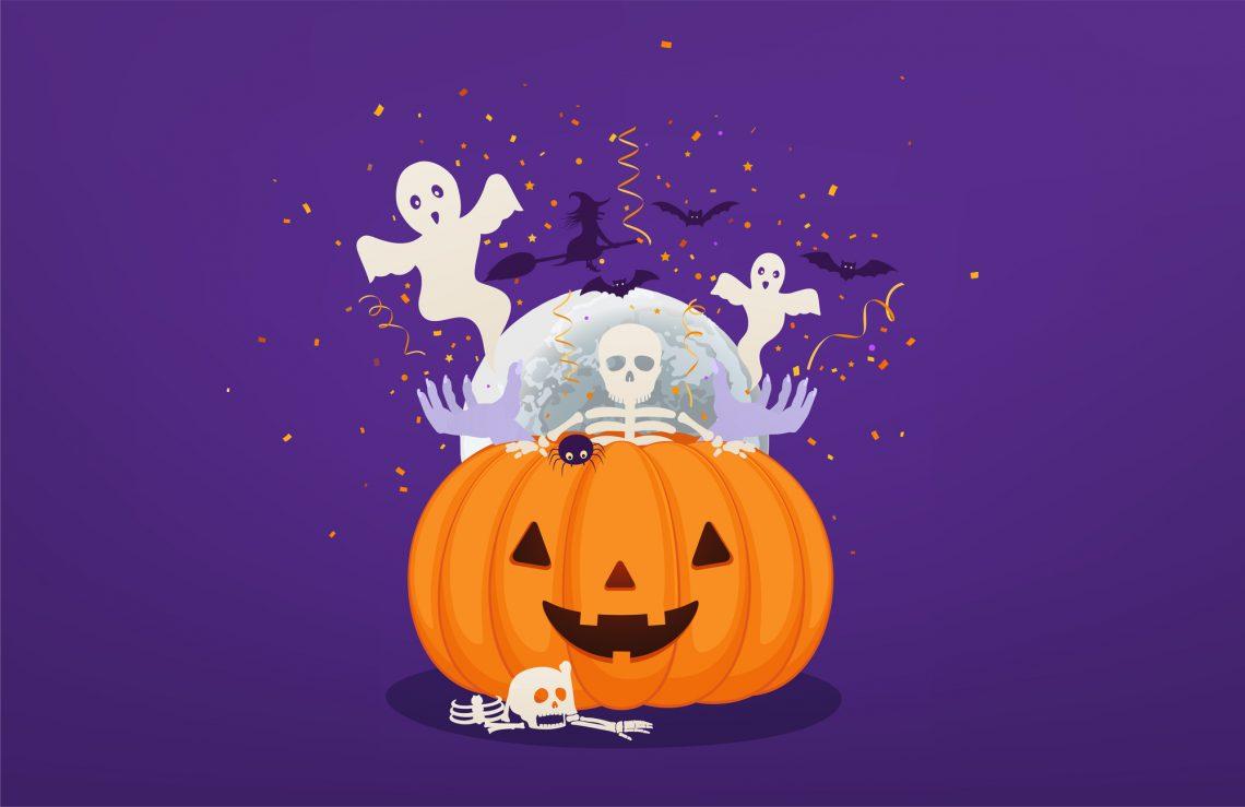 Ilustrações de Halloween