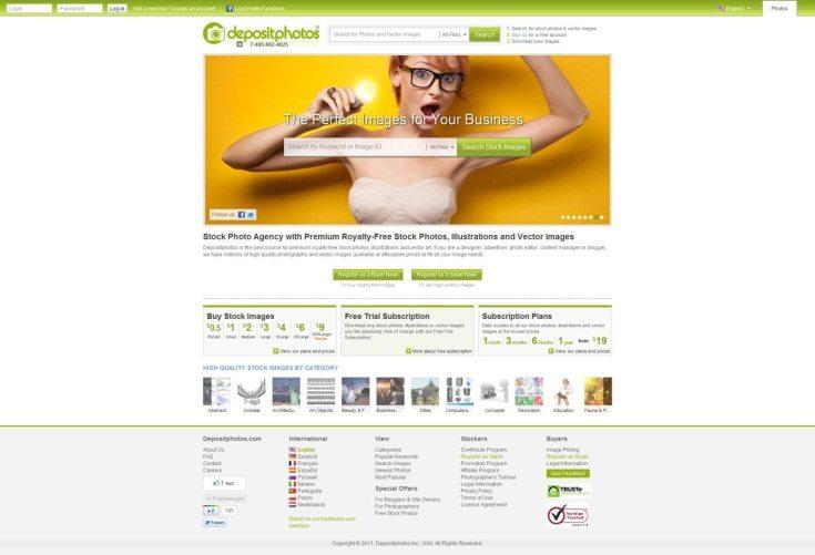Фотобанк Depositphotos запустил обновленную версию интерфейса