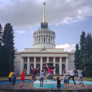Фотосушка и фотоквест на арт-пикнике Славы Фроловой