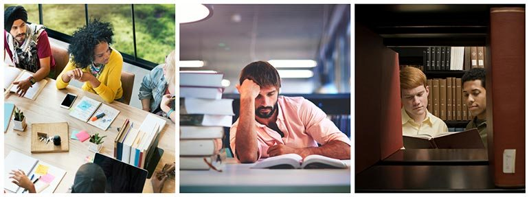 unexplored themes in stock photography university colleges schools