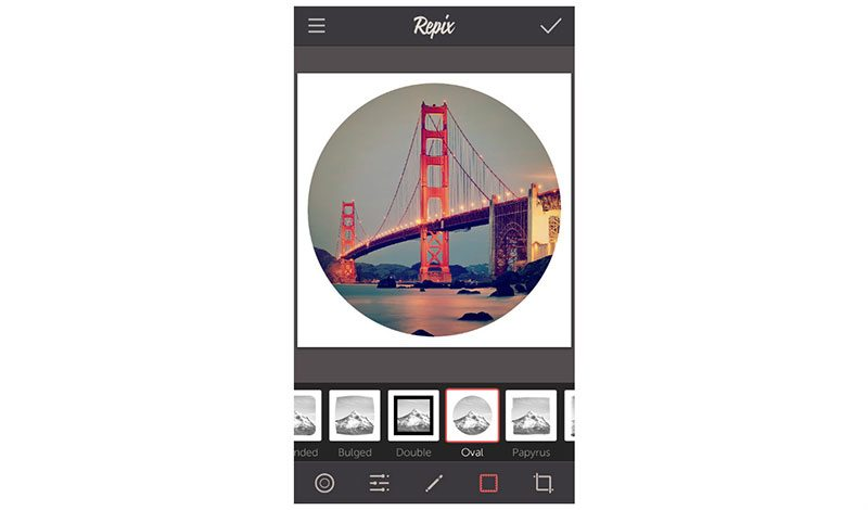how to use repix photo editing apps for iphone and android