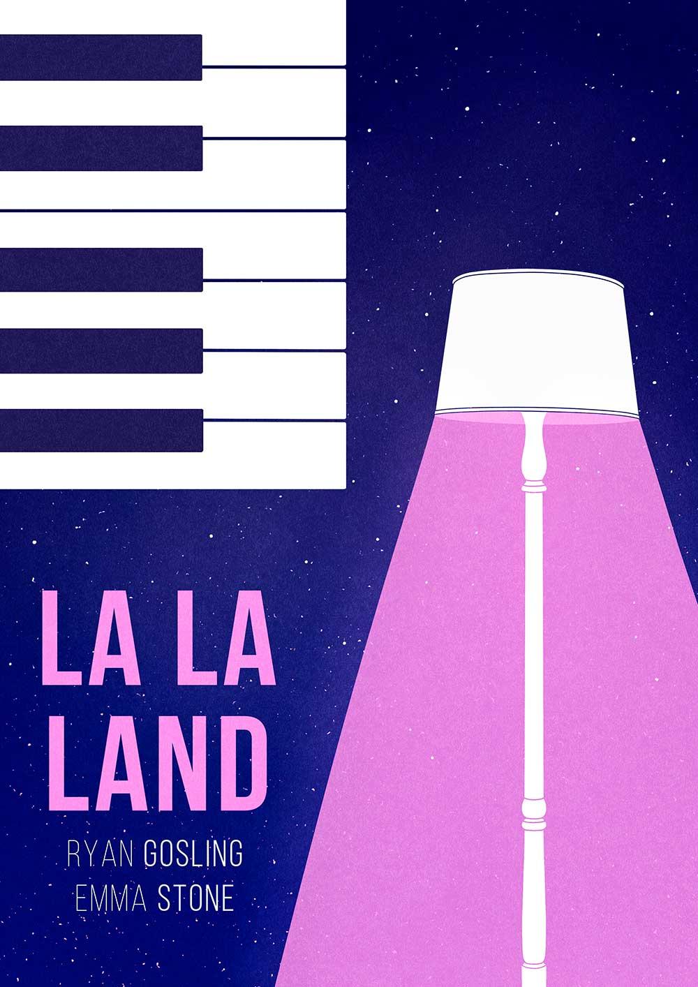 alternative movie posters RINOMONSTA La-La-Land-poster