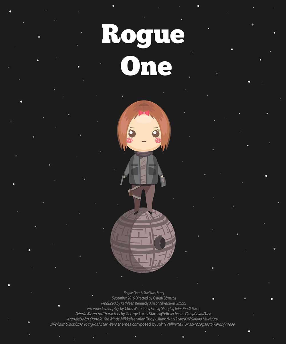 alternative movie posters Nadezhda Arkhipova Rogue One