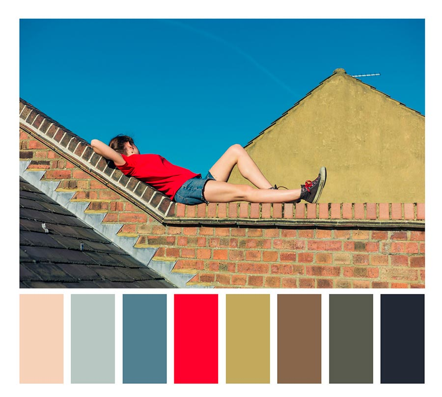 photography color palette hues