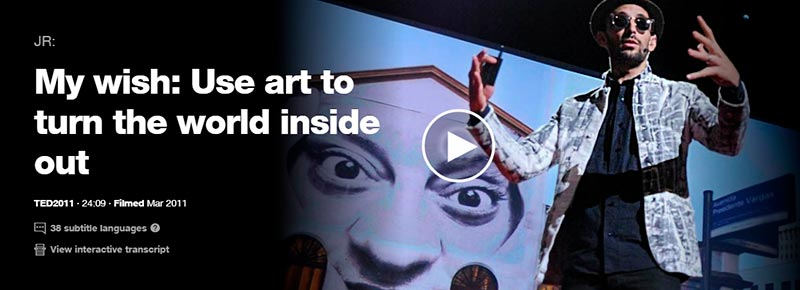 TED talks on art design creativity