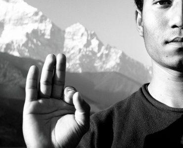 Портретный проект: йог Каршен из страны молочных рек и заснеженных вершин