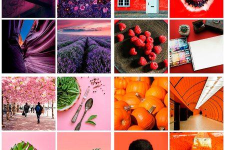 поиск изображений по цвету