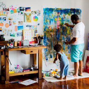 Тематическая коллекция: жизнь художника