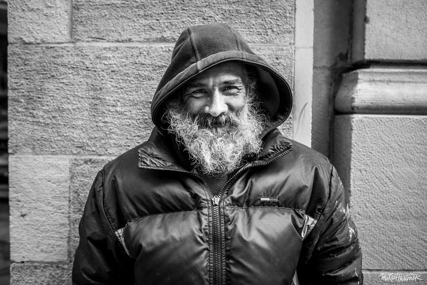фотопроект бездомные