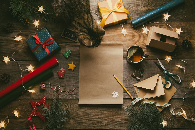 Идеи для новогодней фотосессии от Depositphotos