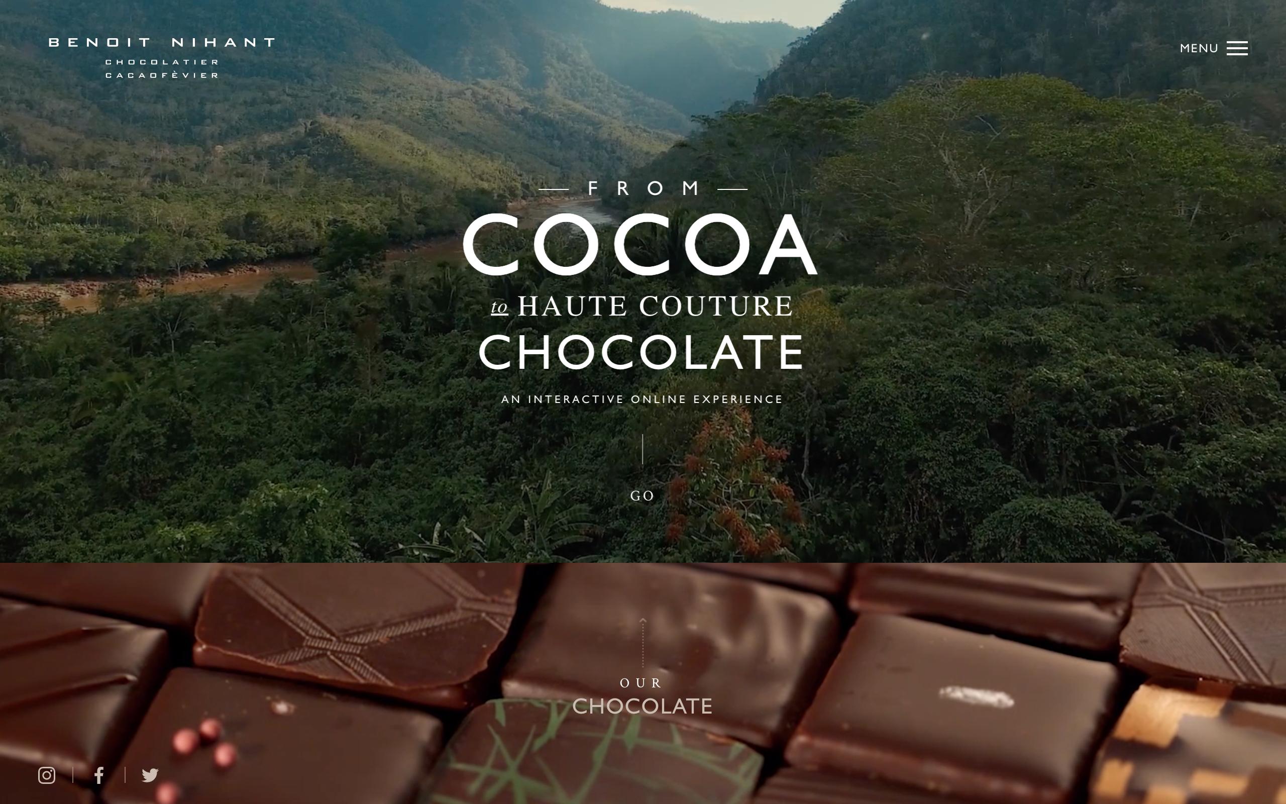 chocolate website