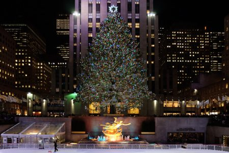 Фотоколлекция: Новый год в Нью-Йорке