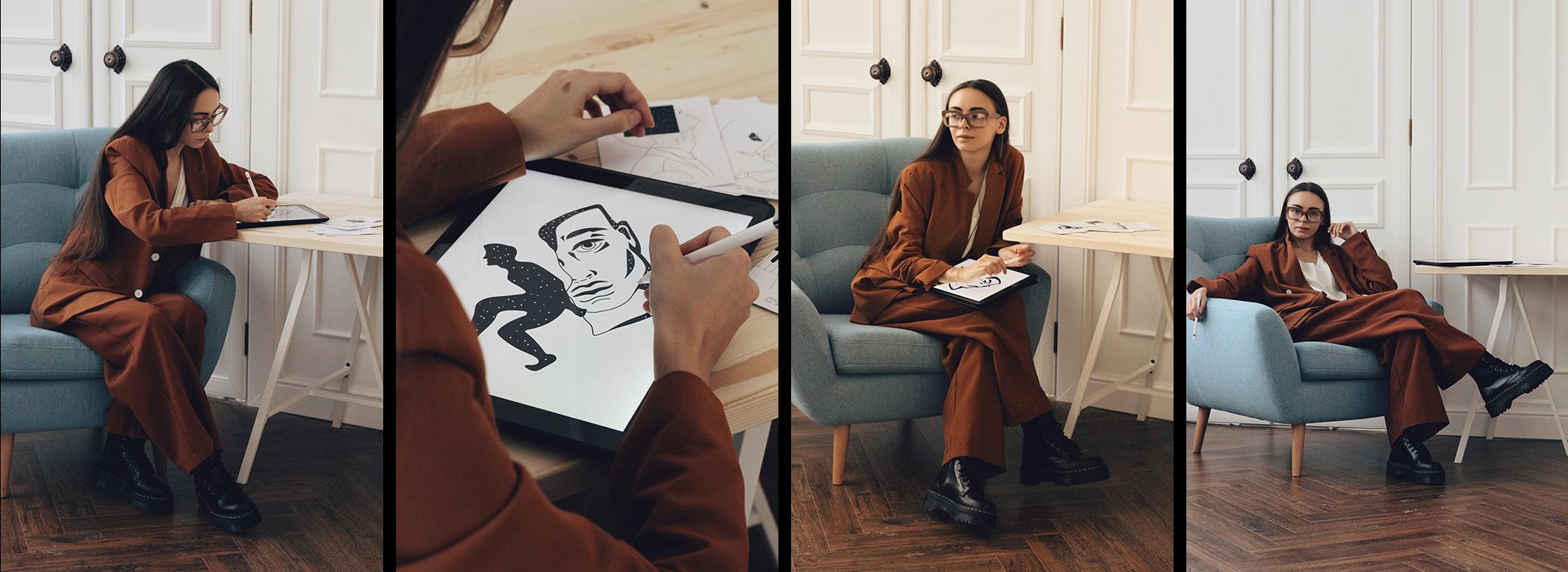 illustrator daria miller