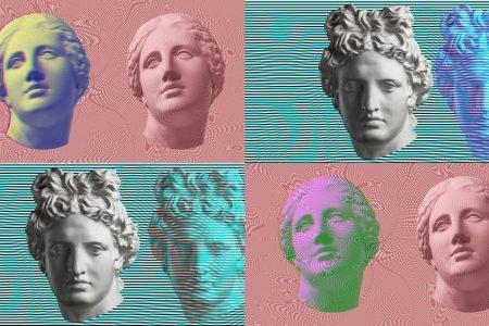 4 футуристические Instagram-маски от Depositphotos