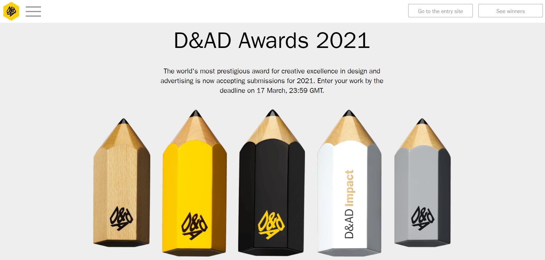 D&AD Awards 2021