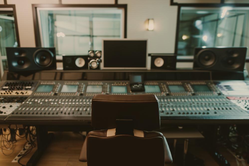 Фото звукозаписывающая студия