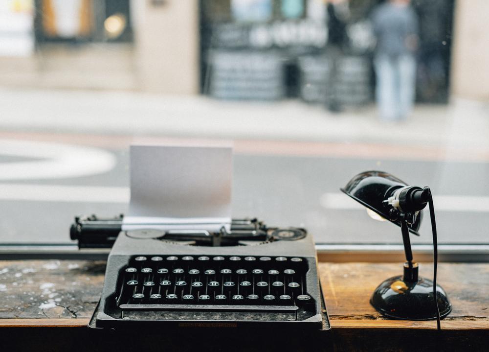 Фото печатная машинка