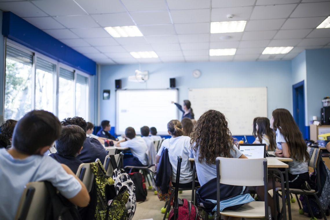 Фото класу під час уроку