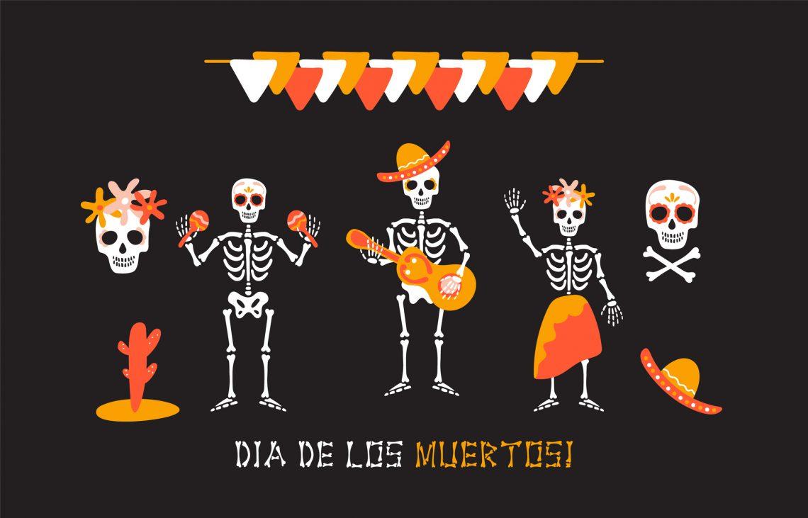 Ілюстрація до Дня мертвих