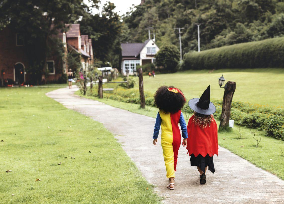 Фото дітей у костюмах на Хелловін