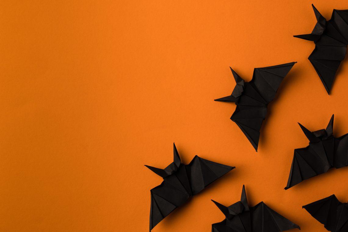 Фото паперових кажанів