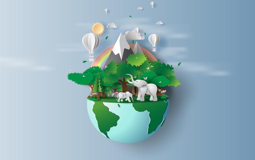 Вектор планета Земля