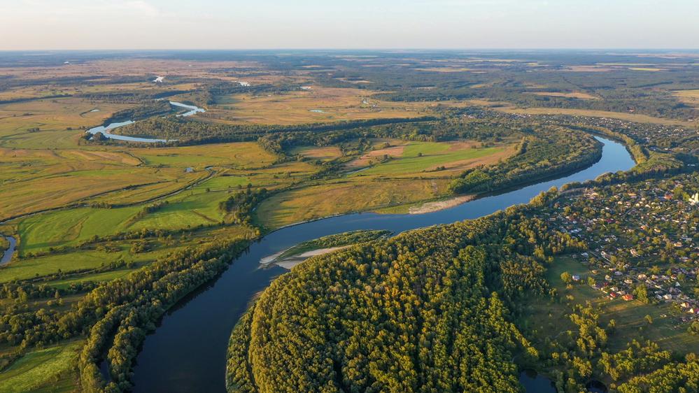 Фото річка Десна Чернігівська область Україна