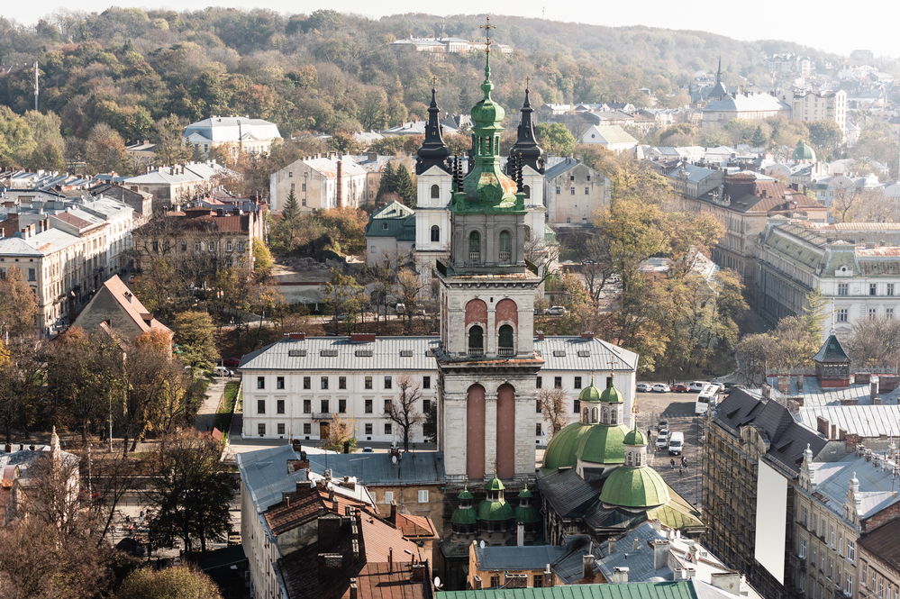Фото Львів історичний центр Україна
