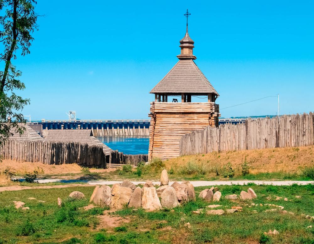 Фото Хортиця Запорізька Січ ДніпроГЕС Україна