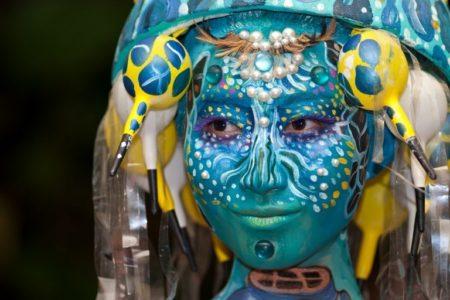 Samui body painting © Depositphotos