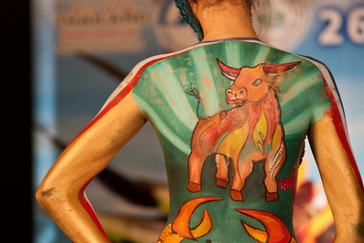 Samui body painting © Depositphotos