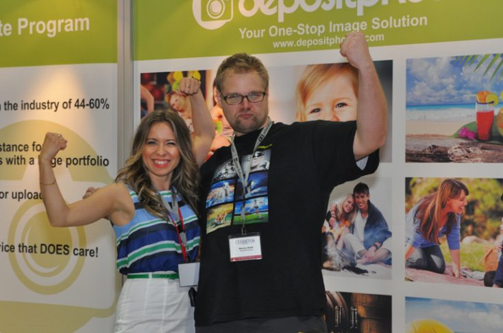 Elena and Marius at Photoshop World DC 2012
