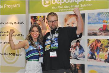 Elena and Marius at Photoshop World DC 2012