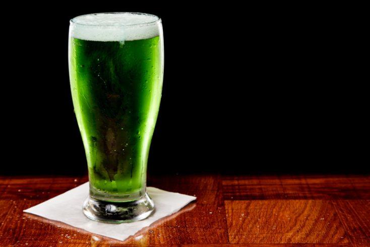 Green Beer © Depositphotos