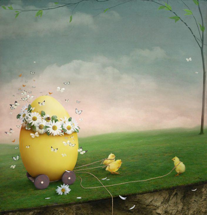 Easter Egg © Depositphotos