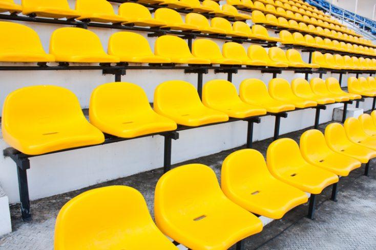 Yellow chair. © Depositphotos
