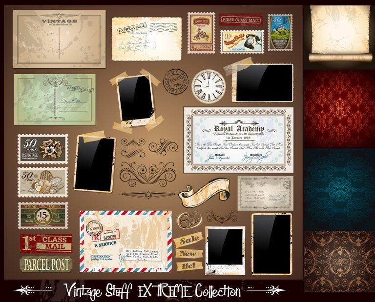 Vintage Stuff Extreme Collection © Depositphotos
