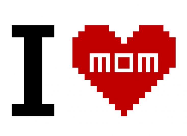I Love Mom © Depositphotos