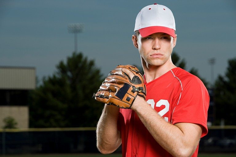 Baseball player © Depositphotos
