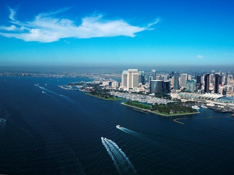 San Diego, CA coast. © Depositphotos