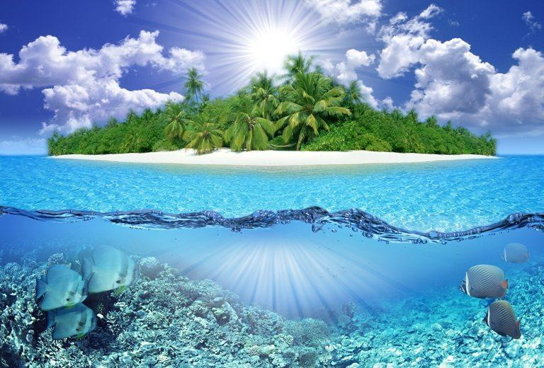 Tropical island | Stock Photo © Depositphotos