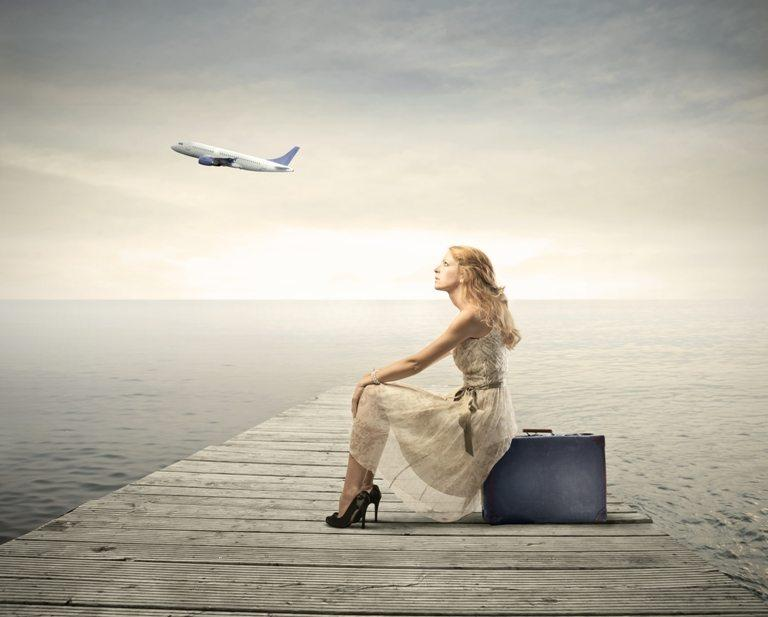 Travel by plane © Depositphotos