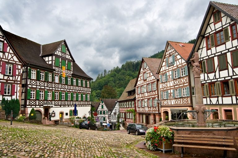 The village of Schiltach in the Black Forest, Germany | Stock Photo © Depositphotos