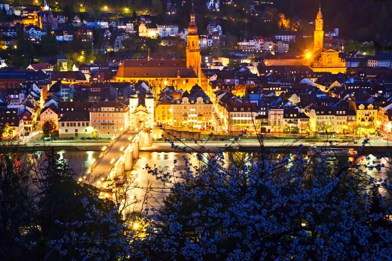 Heidelberg at night, Germany | Stock Photo © Depositphotos