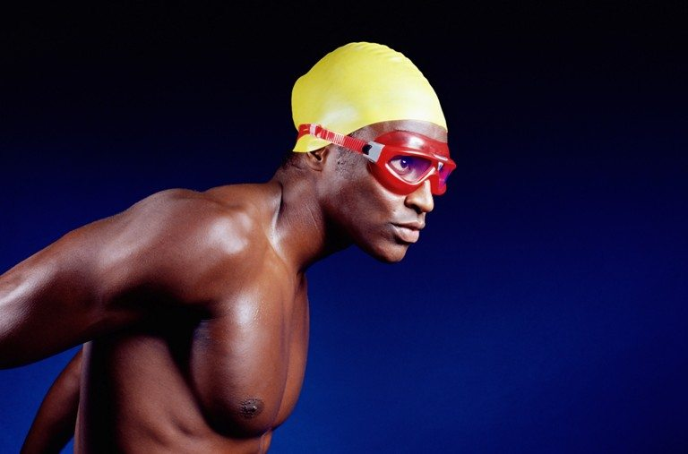 Male swimmer | Stock Photo © Depositphotos