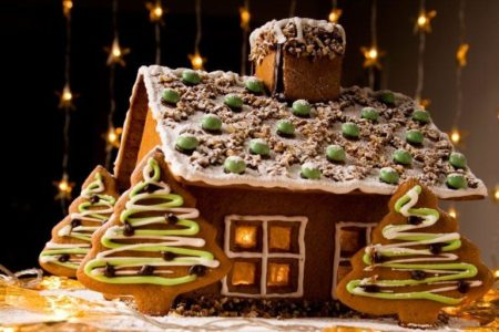 Gingerbread house | Stock Photo © molka